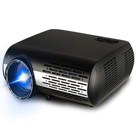 FENGMM Proyector WiFi Inteligente, proyector HD, 16000 Ansi ...