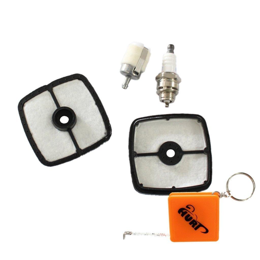 HURI Air Filter Fuel Filter Spark Plug for Echo SRM-211 SRM210 SRM211 GT200 GT225 GT201 PB200 Trimmer Blower 90074 90050