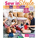 C&T PUBLISHING FSS-11017 FunStitch Studio Sew in Style Make Your Own Doll Clothes
