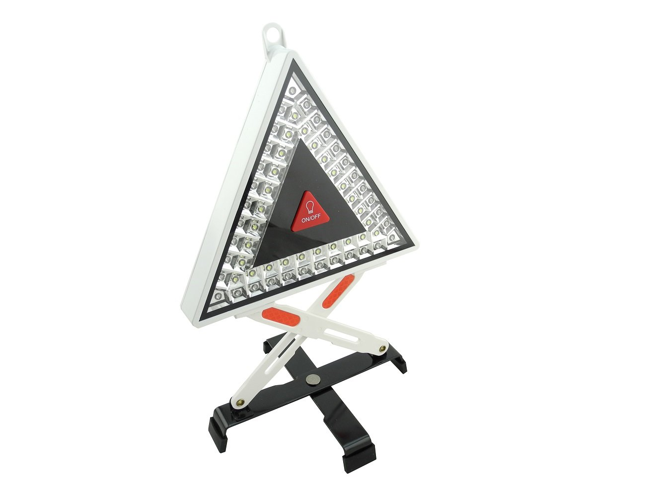 ProHT Emergency Roadside Hazard Triangle LED Silver (03265) by Inland Products