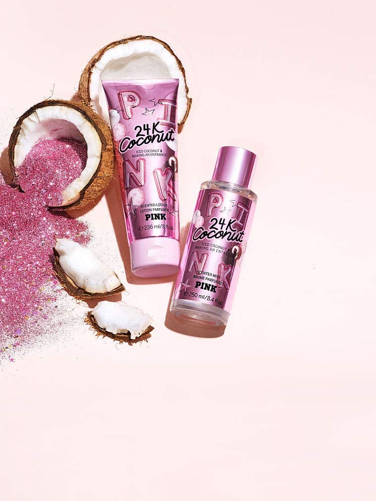 24k Coconut Fragrance Mist and Lotion
