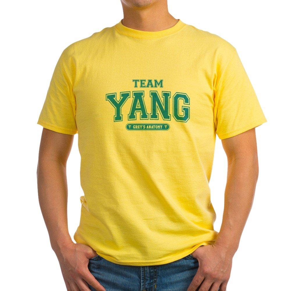 Amazon.com: CafePress Grey\'s Anatomy Team Yang T-Shirt - 100% Cotton ...