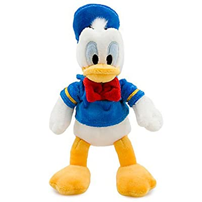 Disney's Donald Duck Plush - Mini Bean Bag - 9 1/2'': Toys & Games
