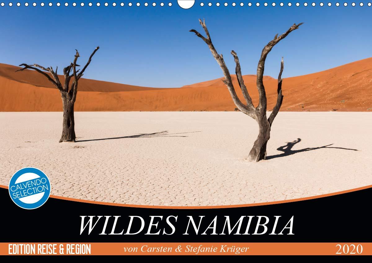 Wildes Namibia  Wandkalender 2020 DIN A3 Quer