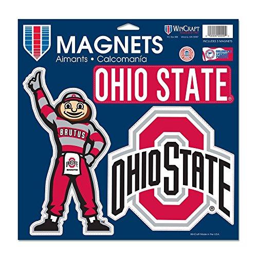 Wincraft NCAA Ohio State University Vinyl Magnet, 11 x 11