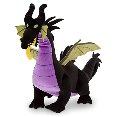 Disney Store Maleficent Dragon 19 Plush Stuffed Animal Toy From Sleeping Beauty