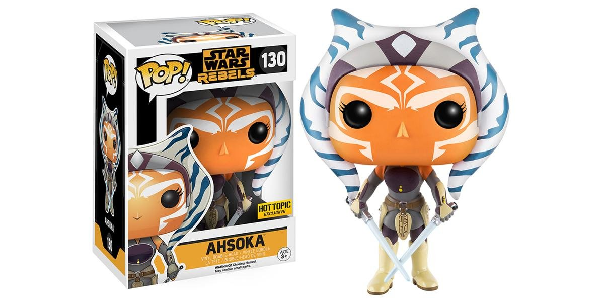 Funko Pop! Star Wars Ahsoka Rebels Hot Topic Exclusive  130 by Pop! Star Wars Exclusive