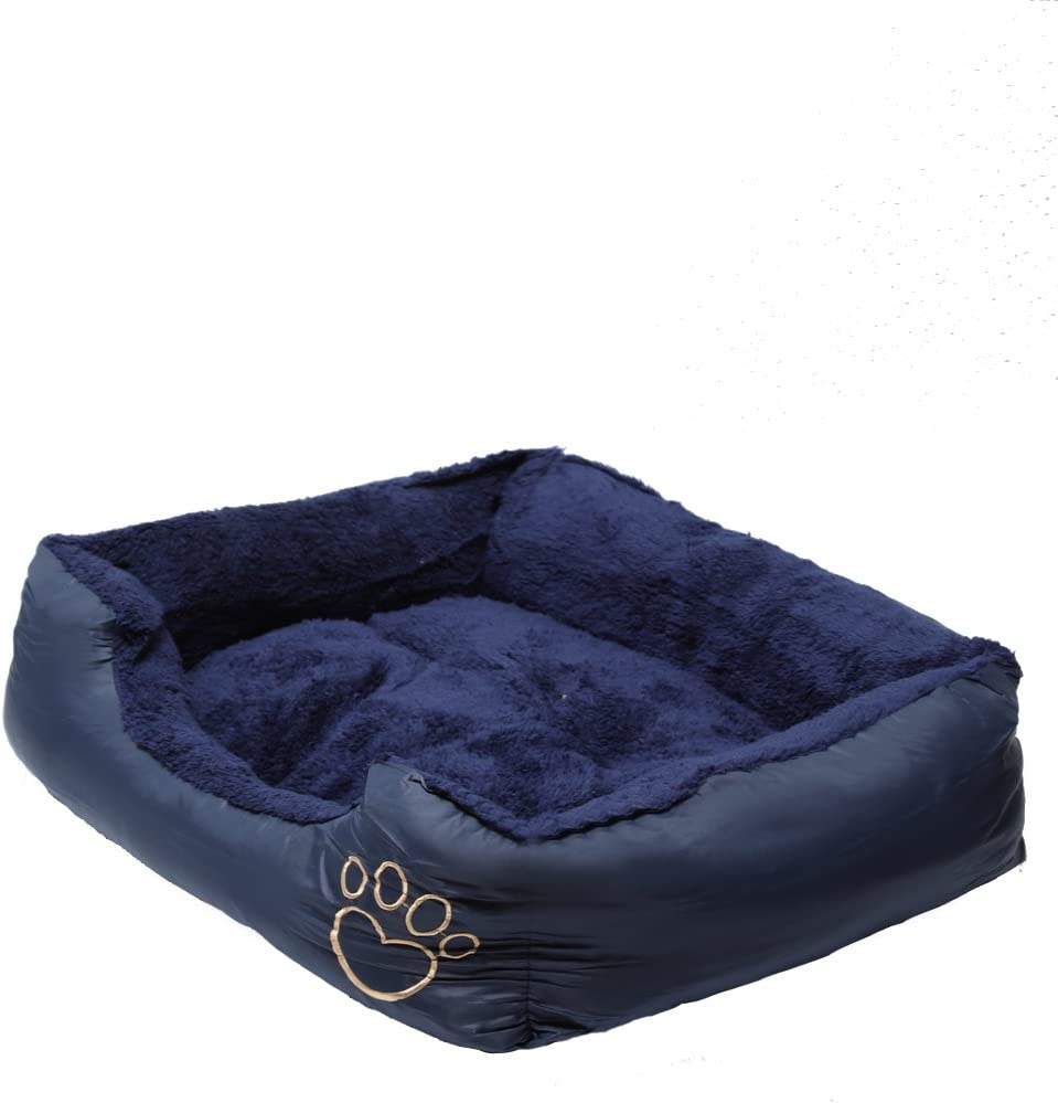 X-Large GREY MAX CARE Deluxe Soft Washable Dog Pet Warm Basket Bed Pad with Fleece Lining 90**70*20cm