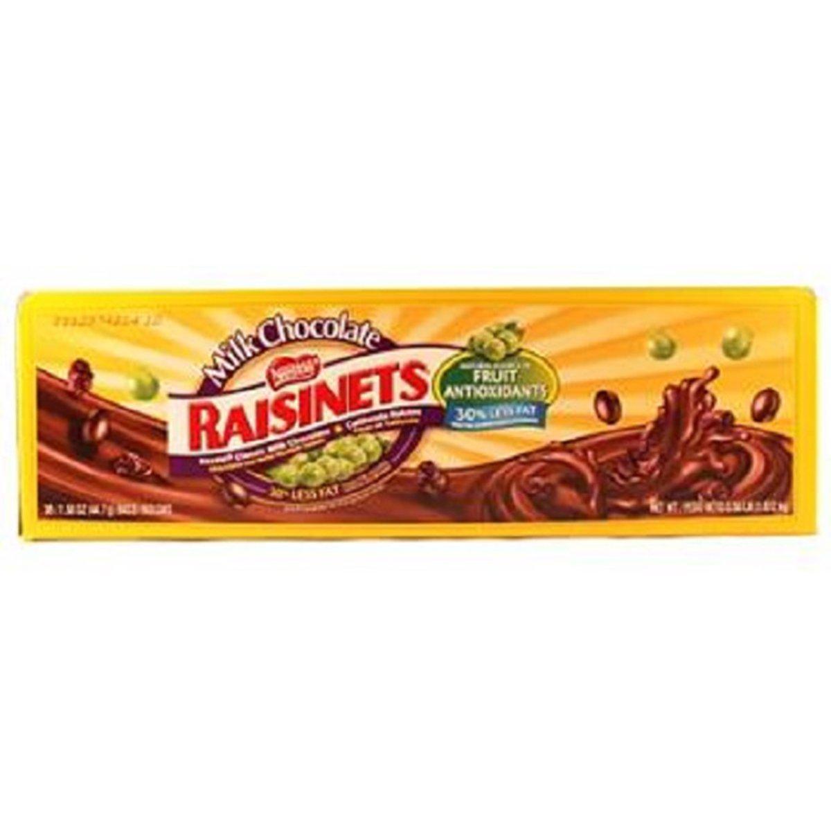 Product Of Raisinets, Milk Chocolate W/Raisins, Count 36 (1.58 oz) - Chocolate Candy / Grab Varieties & Flavors