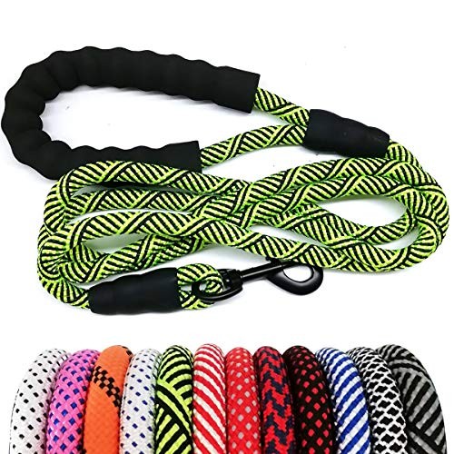 MayPaw Heavy Duty Rope Dog Leash 6Ft, 1/2