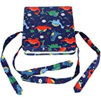 Baby Booster Cushion Kids Booster Seat for Table Dining Chair Adjustable Booster Seat Pad With Straps Lovely Animal…