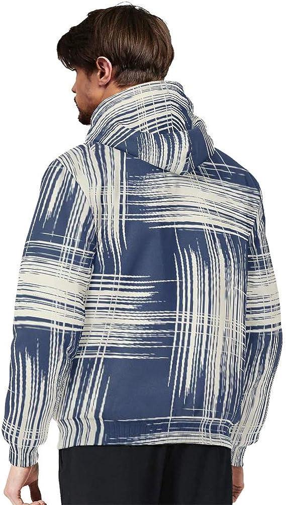 ChengMaR Males Full-Zip Hoodies Sweatshirt Wool Warm Thick Viking Hoodie Sweatshirt Jacket