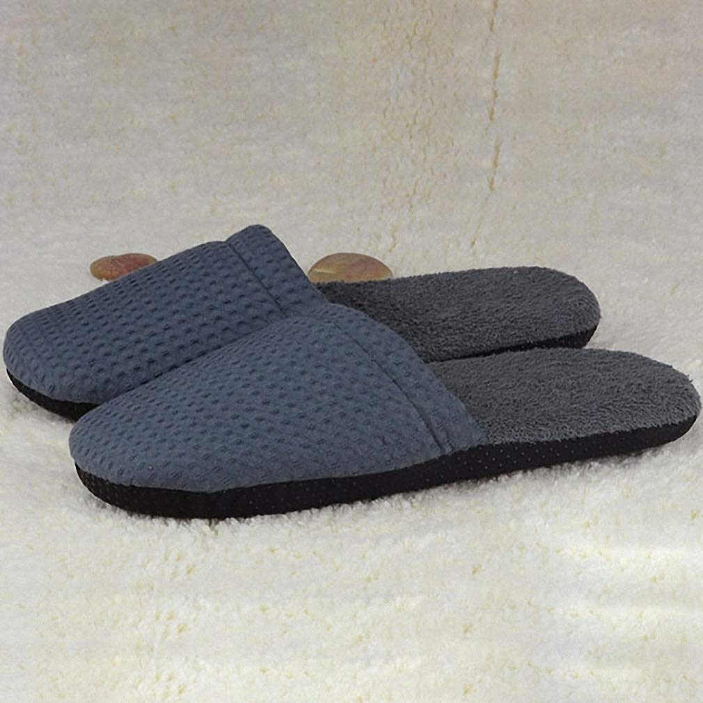 Womens Non-Disposable Towel Slippers Hotel Travel Home Hospitality Special Non-Disposable Slippers Soft Warm Slippers 28cm