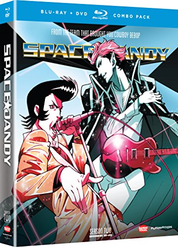Blu-ray : Space Dandy: Season 2 (With DVD, Boxed Set, , Dubbed, 4 Disc)