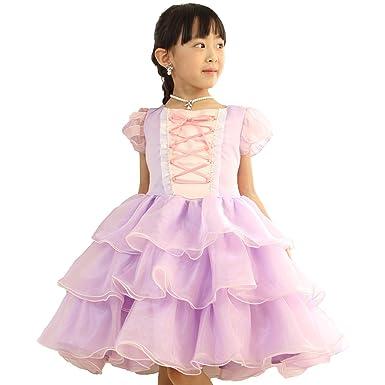 bfcd2747f360b リトルプリンセスデザイン ディズニーフォーマルドレス  ラプンツェル 子供ドレス 130cm