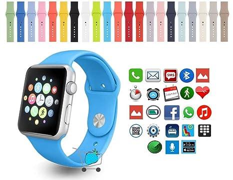 WATCH Smartwatch MTK2502C Compatible con IOS y Android ...