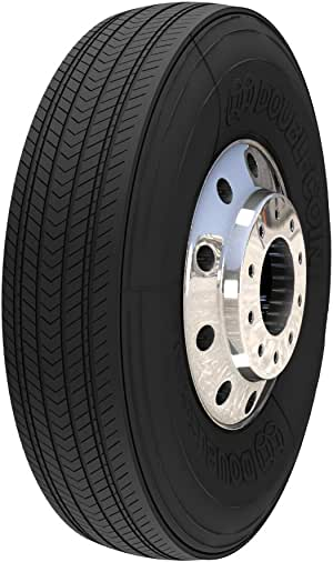 Double Coin RT600 Premium Low Profile Regional//All-Position Steer Commercial Radial Truck Tire 265//70R19.5 16 ply
