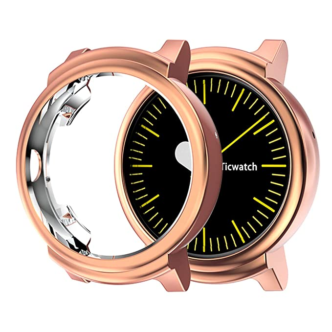 UBOLE - Carcasa para Ticwatch E (Revestimiento de TPU ...