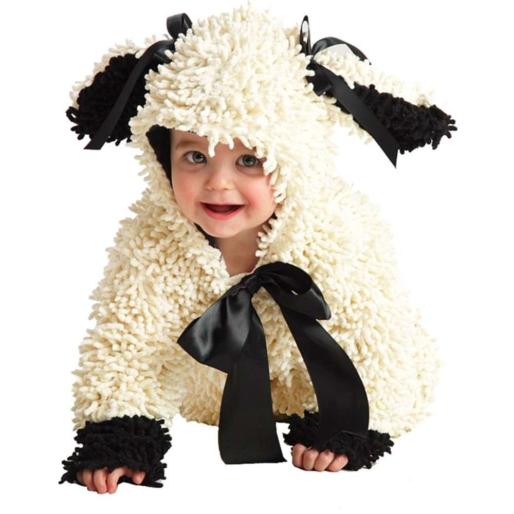 sc 1 st  Amazon.com & Amazon.com: Princess Paradise Baby Woolly Lamb Deluxe Costume: Clothing