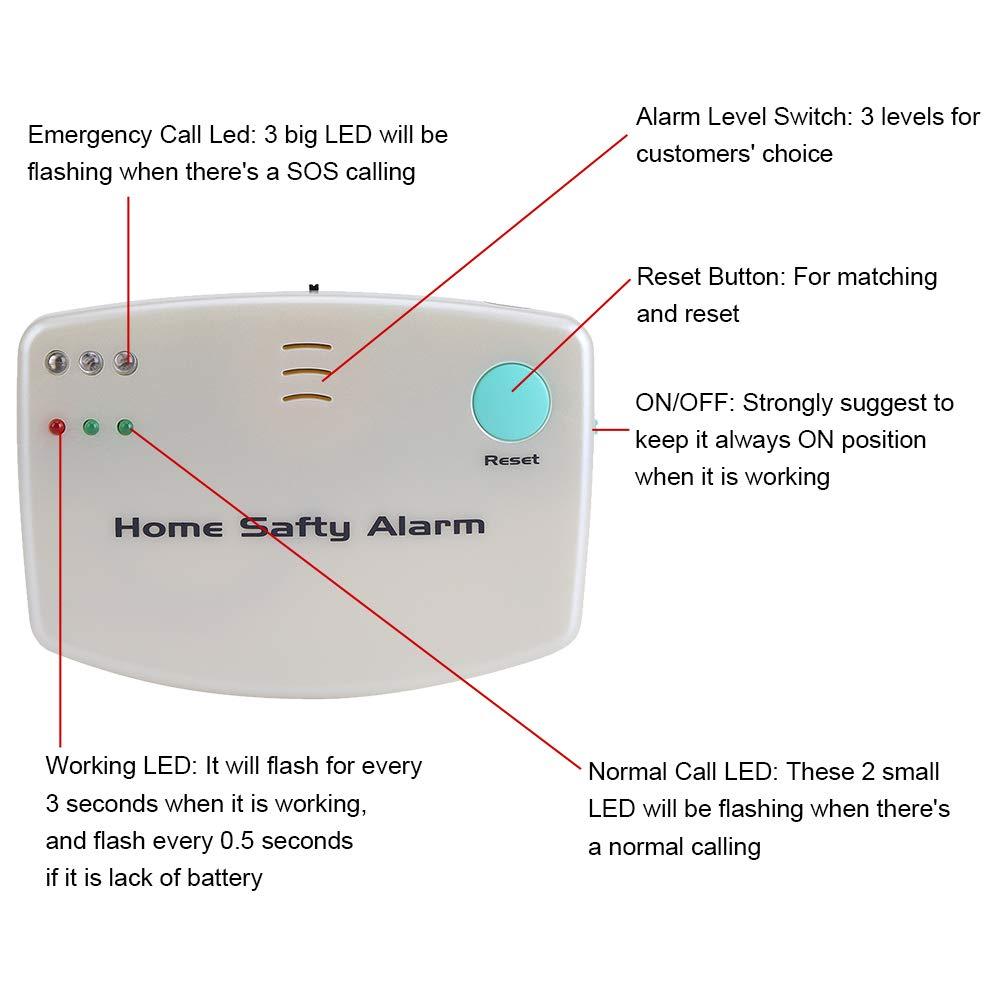 Alarma inalámbrica de seguridad Para Hogar Atención de ...