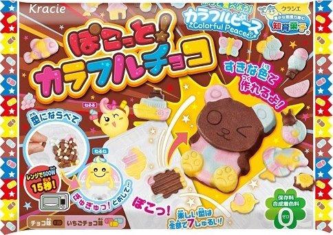 Kracie DIY kits Pokotto! Colorful Chocolate