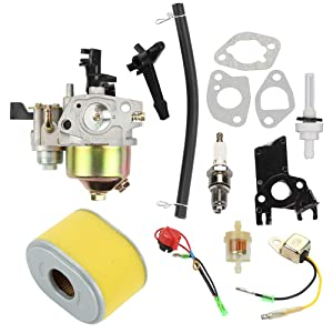 Hayskill GX200 GX160 Carburetor for Honda GX140 GX 160 GX168 GX 200 5HP 5.5HP 6.5HP Engine Water Pump Pressure Washer Carb Replace 16100-ZH8-W61