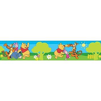 Tapete kinderzimmer junge baby  Disney Winnie Jungen/Mädchen Baby Bordüre Tapete Kinderzimmer ...
