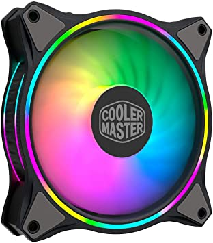Cooler Master MasterFan MF120 Halo Dual Ring Ventilador direccionable RGB iluminación 120 mm con LED controlados