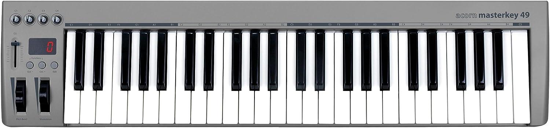 Masterkey MK49 - Teclado controlador: Amazon.es: Instrumentos ...
