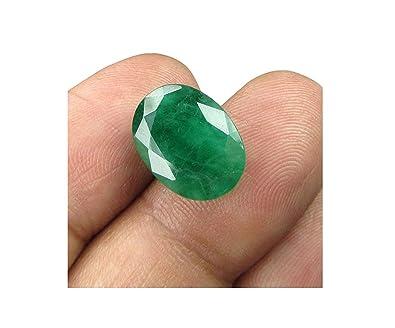 Buy Vaibhav Gems Colombian Certified Loose Precious Panna Emerald