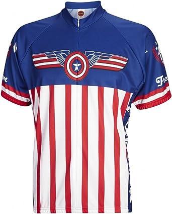 Amazon.com: World Jerseys USA Freedom Men's Cycling Jersey: Clothing