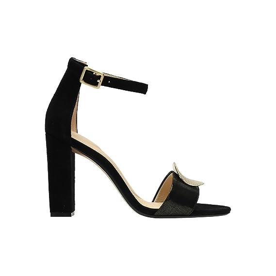 b2c612862d5 Clarks Womens Black Combi  Curtain Deco  Sandals 6  Amazon.co.uk ...