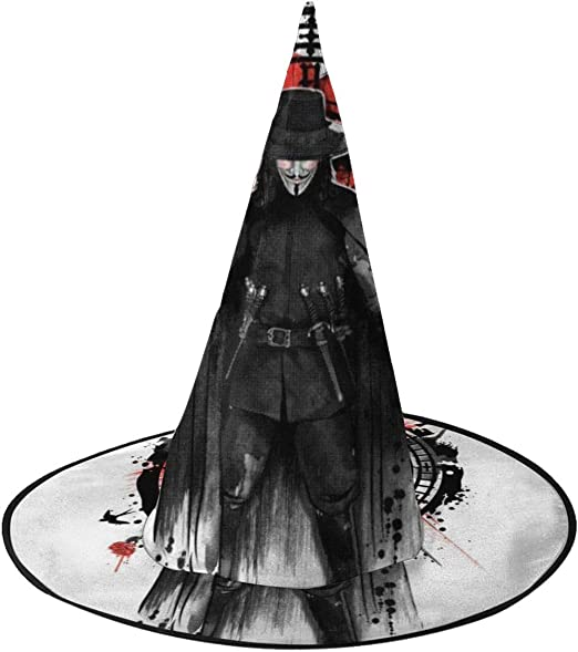 NUJSHF V para Vendetta Recordar el Quinto de noviembre Sombrero de ...