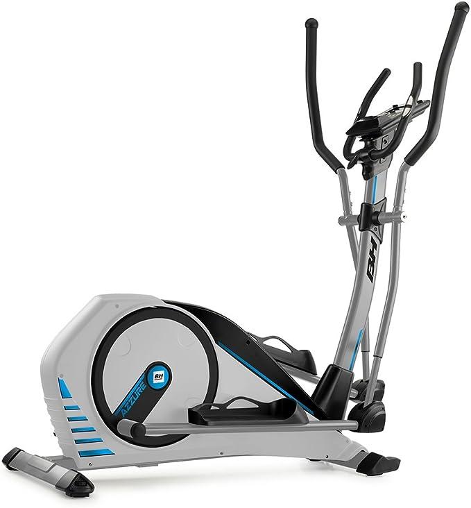 BH Fitness AZZURE G2362 - Bicicleta elíptica (14 kg, hasta 125 kg, Programa de vatios, 24 Niveles de Resistencia): Amazon.es: Deportes y aire libre