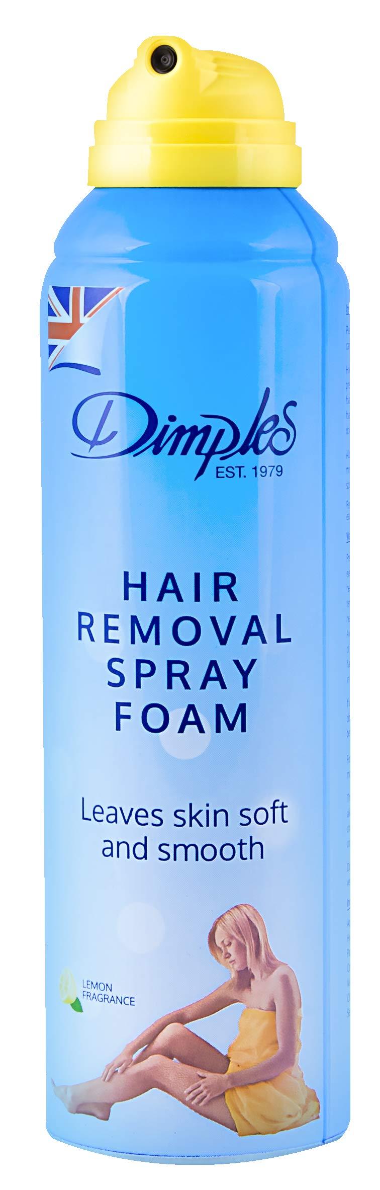 Dimples Hair Removal Spray Foam Lemon Fragrance 200 Ml Buy