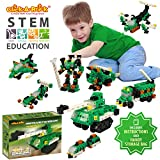 Click-A-Brick Army Defenders 100pc Building Blocks Set | Best STEM Toys for Boys & Girls Age 5 6 7 Year Old | Fun Kids 3D Construction Puzzle | Top Educational Learning Gift For Children Ages 5-10