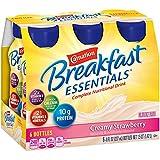 Carnation Breakfast Essentials Creamy Strawberry Complete Nutritional Drink, 8 fl oz, 6 count