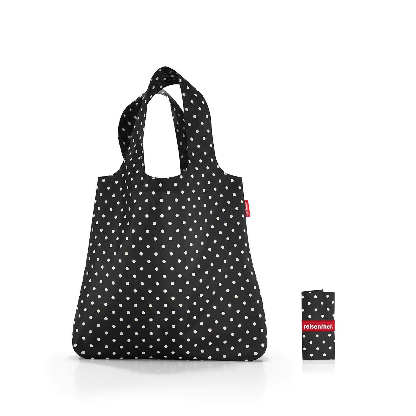 Reisenthel Mini Maxi Shopper Mixed Dots Sac de Sport Grand Format 60 Centimeters 15 Noir (Mixed Dots)