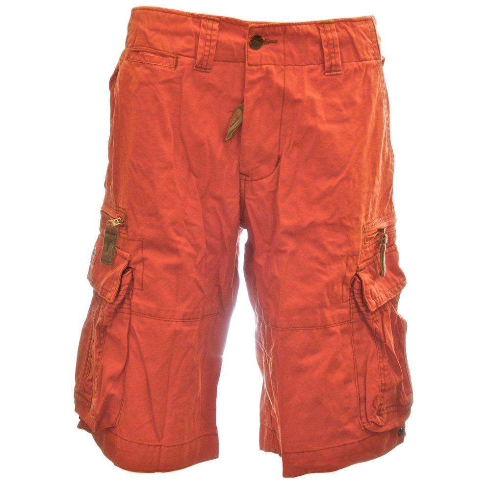 Hazard orange Molecule Mens Sizeups Cargo Shorts 52010-100% Premium Quality Tough Cotton Larger Plus-Sizes