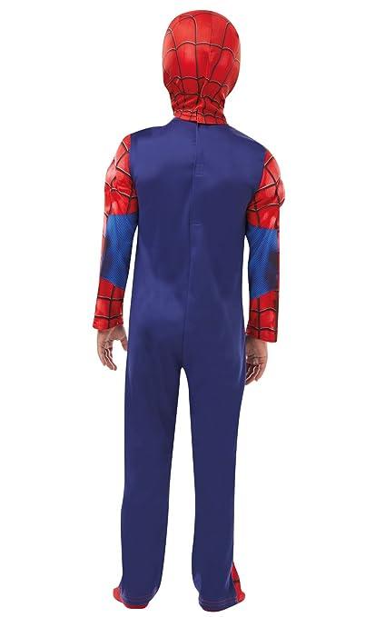 Rubies 640841S SPIDERMAN Marvel - Disfraz infantil de Spider-Man de lujo, para niños, talla pequeña: Amazon.es: Juguetes y juegos
