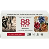 88 Acres Triple Berry Gluten-Free Granola Bar, 1.6 oz (12 Bars)