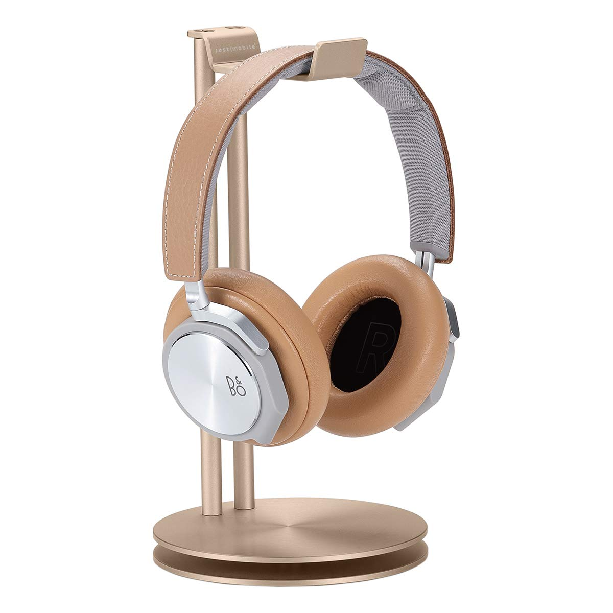 Just Mobile HS-100GD HeadStand Aluminum Desktop Stand for Headphones - Gold [Limited Edition] by Just Mobile