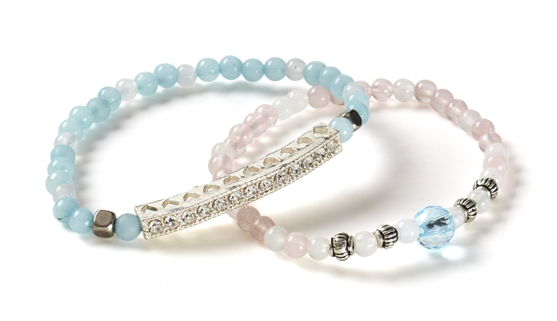 Melissa /& Doug Jewelry Made Easy Semiprecious Stone Bead Bracelet-Making Set Melissa and Doug 9475
