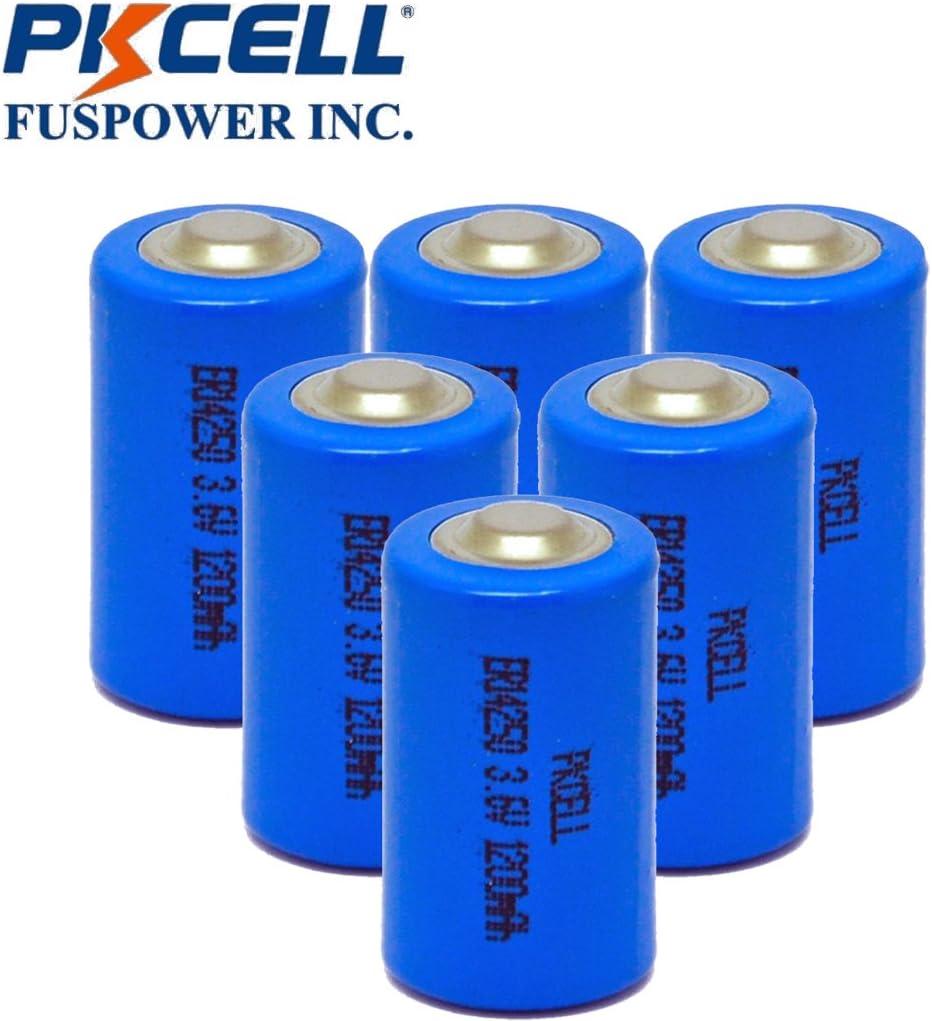 Li-SOCl2 Battery 1//2 AA 3.6V 14250 1200mAh ER14250 LS14250 20pcs Ship From CA
