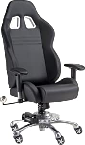 Pitstop Furniture GP1000B GT Office Chair, Black
