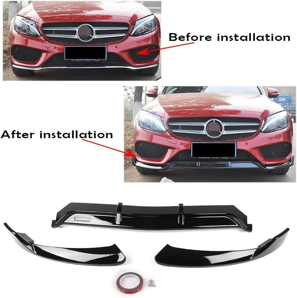 C300//C400//C200//C180 GZYF Auto Car Rear Trunk Spoiler Lip Compatible with 2015-2017 Mercedes Benz W205 C-Class