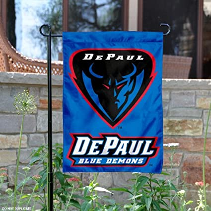 DePaul University Garden Flag and Yard Banner