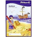 Pelikan Malblock DIN A4 / 100 Blatt VE=1 (Chlorfrei, 70 g/m²)