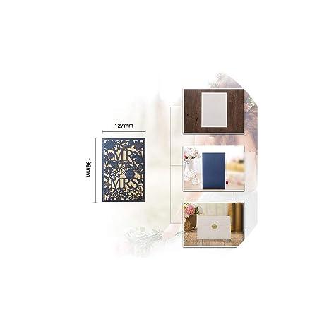 Amazon.com: Tarjetas de felicitación, 1 unidad, color blanco ...