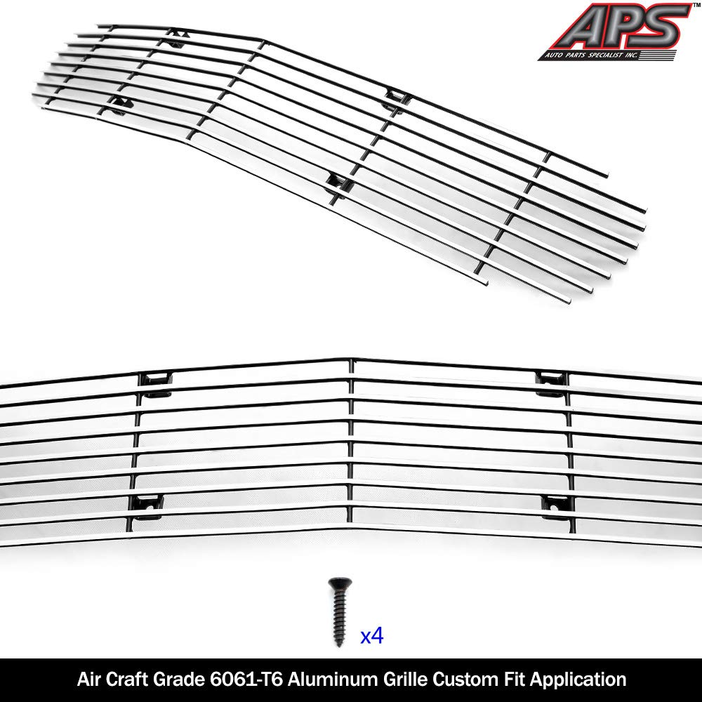 APS Compatible with 1998-2003 Chevy Camaro Camaro SS Billet Grille Insert S18-A60068C